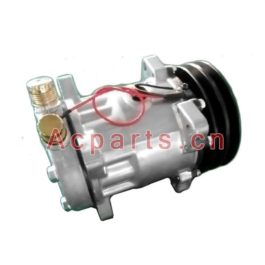 ACTECmax Tractor ac compressor 7H15 8 Ears 12 Volts 2A 132mm