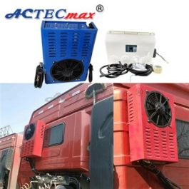 ACTECmax truck sleeper parking cooler 24V 12V Battery power