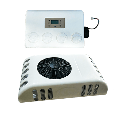 battery powered air conditioner for trucks