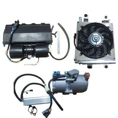 New energy Electric AC Air conditioner System Vehicle EV
