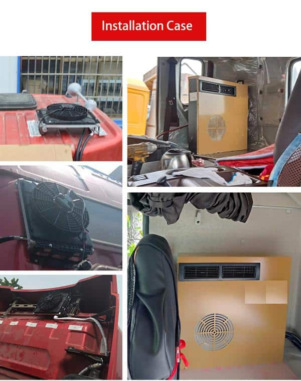 TRUCK AIR CONDITIONER INSTALL